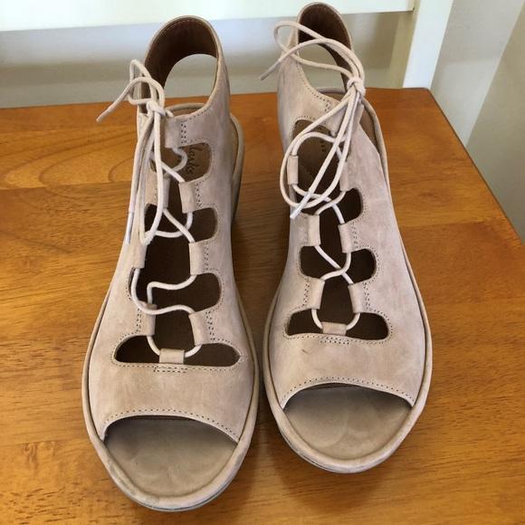 a631e09e22f CLARKS Clarene Grace Womens Wedge Sandals